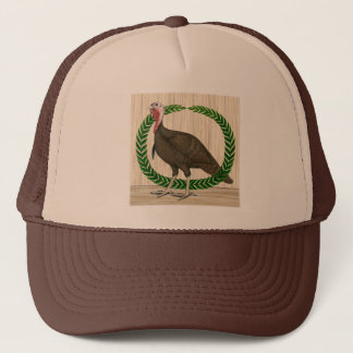 Turkey Wreath Trucker Hat