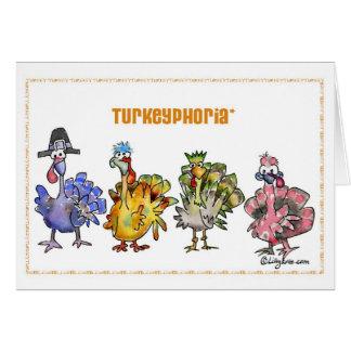 Turkeyphoria Felicitación