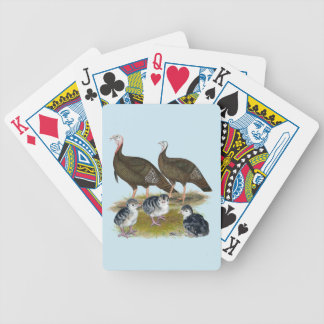 Turkeys Eastern Wild Family Bicycle Playing Cards