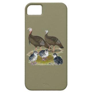 Turkeys Eastern Wild Family iPhone 5 Cases