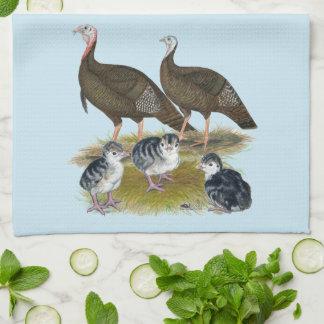 Turkeys Eastern Wild Family Kitchen Towel