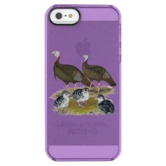 Turkeys Eastern Wild Family Uncommon Clearly™ Deflector iPhone 5 Case