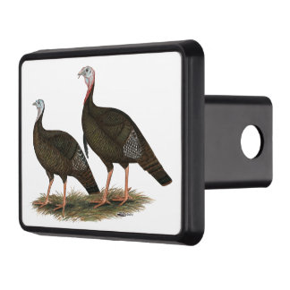 Turkeys Eastern Wild Pair Tow Hitch Cover