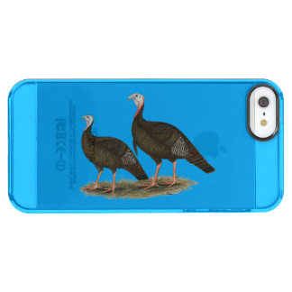 Turkeys Eastern Wild Pair Uncommon Clearly™ Deflector iPhone 5 Case