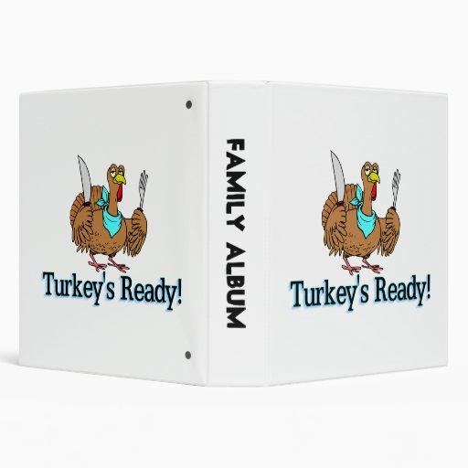 Turkeys Ready Thanksgiving Binders