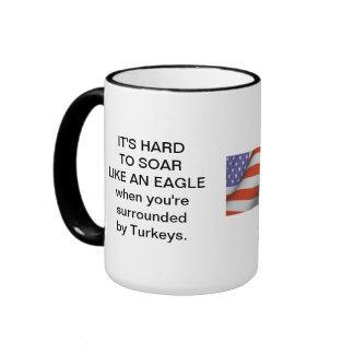 Turkeys Ringer Coffee Mug