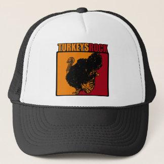 Turkeys Rock Trucker Hat