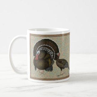Turkeys Standard Bronze Portrait Coffee Mug