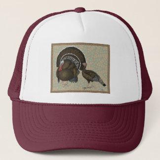 Turkeys Standard Bronze Portrait Trucker Hat