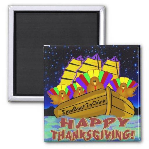 Turkeys Thanksgiving Magnet
