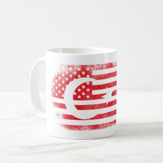 Turkish American Flag   Turkey and USA Design Coffee Mug