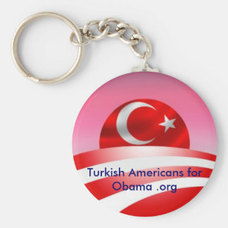 Turkish Americans for Obama .org Key Chain