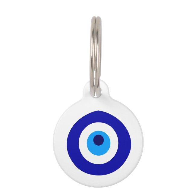 Turkish amulet called Nazar Pet ID Tag