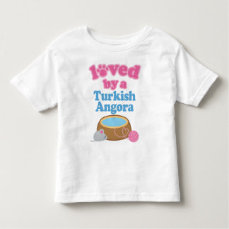 Turkish Angora Cat Breed Loved By A Gift Toddler T-shirt