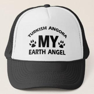 TURKISH ANGORA cat design Trucker Hat