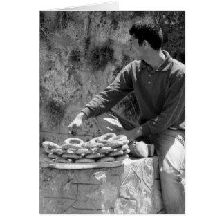 Turkish bagel salesman - Acma Card