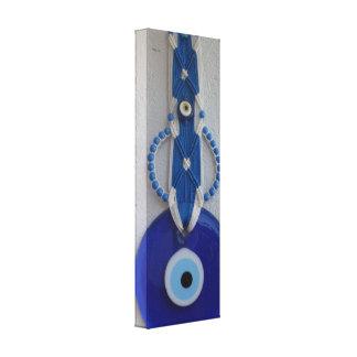 turkish bead glass amulet evil eye Canvas Canvas Prints
