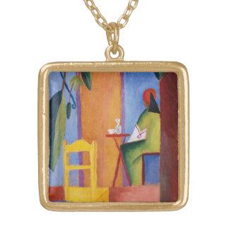 """Turkish Café"" Art necklace"