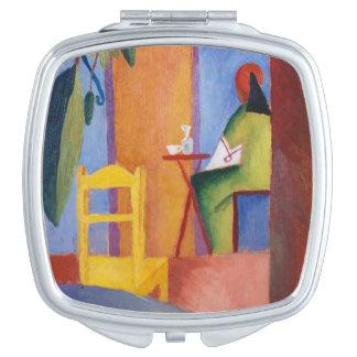 """""""Turkish Café"""" Art pocket mirror"""