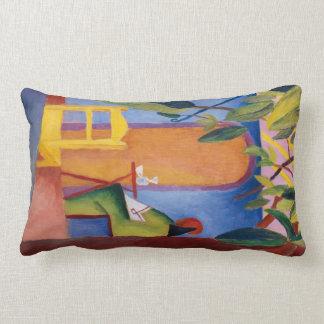 """""""Turkish Café"""" Art throw pillow"""