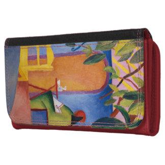 """Turkish Café"" Art wallets"