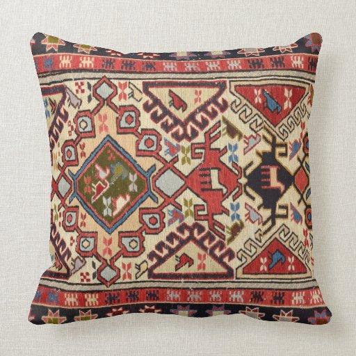 Turkish Carpet #1 Throw Pillow Zazzle