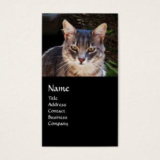 TURKISH CAT MONOGRAM BUSINESS CARD