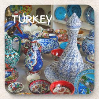 Turkish Ceramics Beverage Coaster
