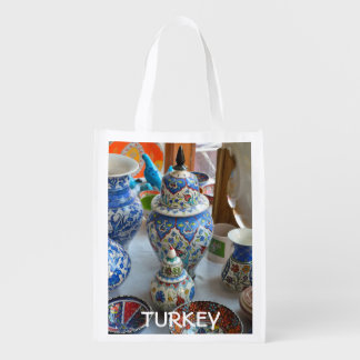 Turkish Ceramics Grocery Bag