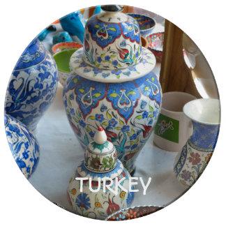 Turkish Ceramics Porcelain Plates