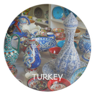 Turkish Ceramics Melamine Plate