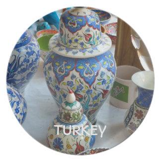 Turkish Ceramics Plate