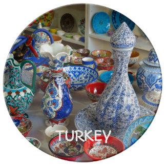 Turkish Ceramics Porcelain Plate