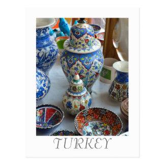 Turkish Ceramics Postcard