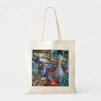Turkish Ceramics Tote Bag