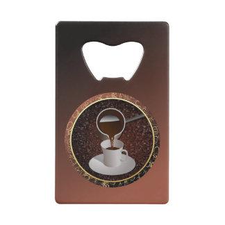 Turkish Coffee Credit Card Bottle Opener