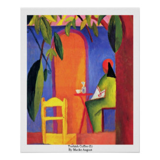 Turkish Coffee (Ii) By Macke August Poster