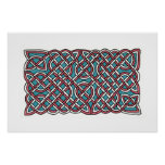 Turkish Delight Knot (horizontal) Poster