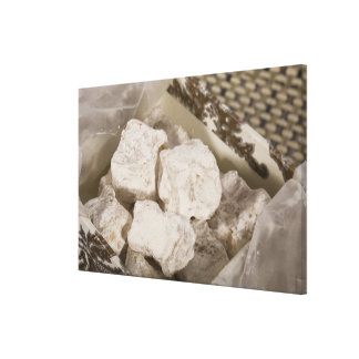 Turkish Delight (locum) is a sweet candy from Ista Canvas Prints
