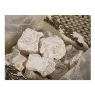 Turkish Delight (locum) is a sweet candy from Ista Postcard