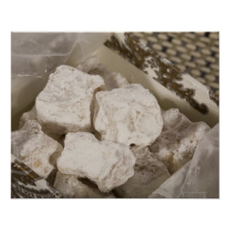 Turkish Delight (locum) is a sweet candy from Ista Poster