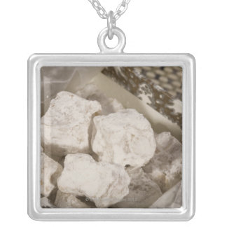 Turkish Delight (locum) is a sweet candy from Ista Silver Plated Necklace