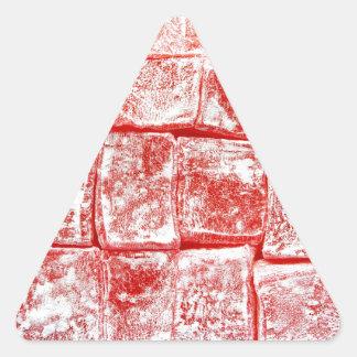 Turkish Delight Triangle Sticker