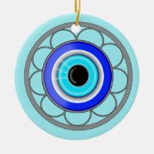 Evil Eye Charm Ornaments Keepsake Zazzle