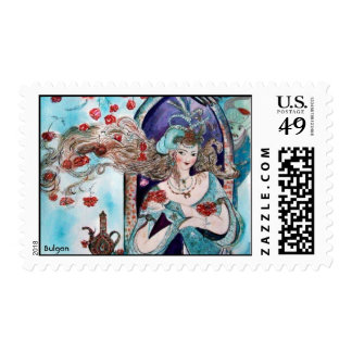 Turkish Fairy Tale - Detail Stamps