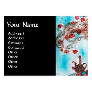 TURKISH FAIRY TALE Oriental Beauty,Fashion,Jewelry Large Business Cards (Pack Of 100)