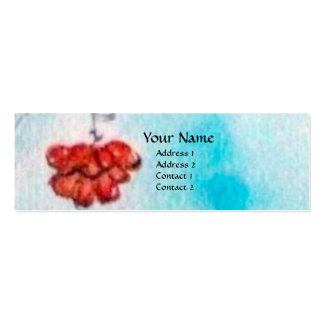 TURKISH FAIRY TALE Oriental Beauty,Fashion,Jewelry Double-Sided Mini Business Cards (Pack Of 20)