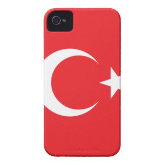 Turkish Flag Circle Case-Mate iPhone 4 Case