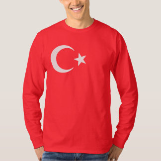 Turkish Flag Crescent Moon And Star T-Shirt