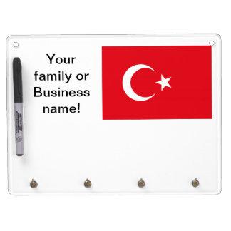 Turkish Flag Dry-Erase Board